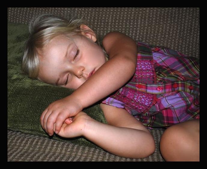 Cute Sleeping Kaia