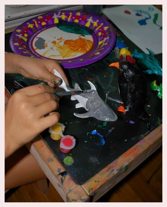 Painting Sea Creatures