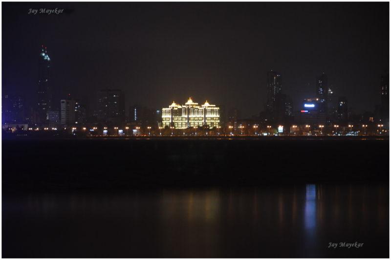 An evening in Mumbai