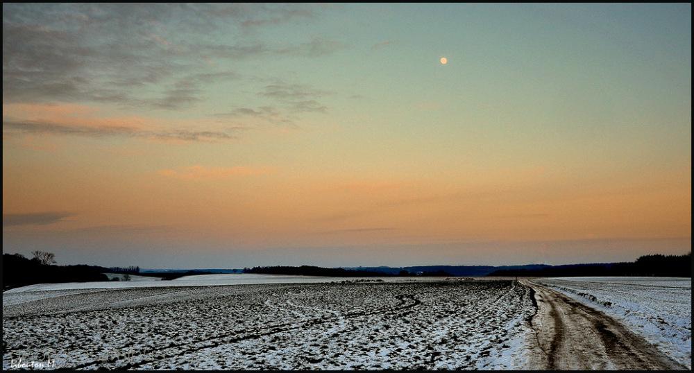 Clair de lune....à Bousval!!!!