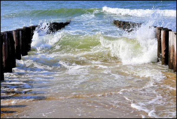 Les pieds dans l'eau....