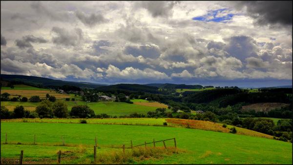Les nuages de Juillet...