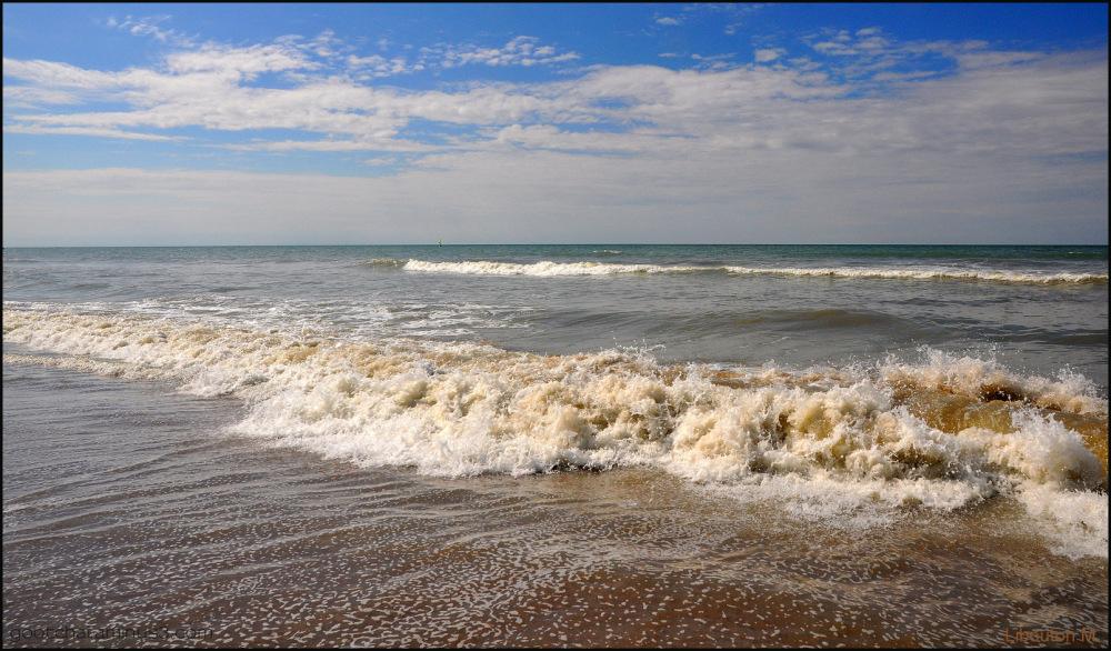 Ecouter, sans bouger, le bruit des vagues...