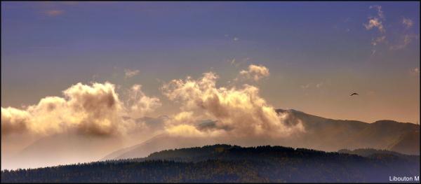 Flirter avec les nuages.....