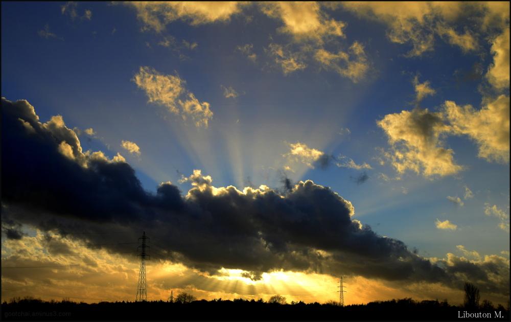 Eventail du ciel ...Juste pour le bonheur des yeux