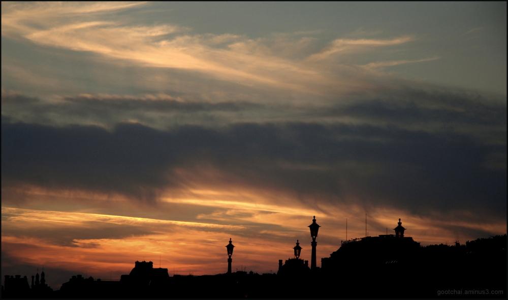 Sur les toits de Paris 2