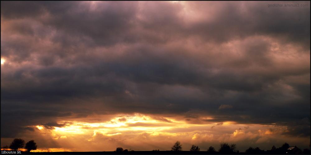 Le ciel me tombe sur la tête....