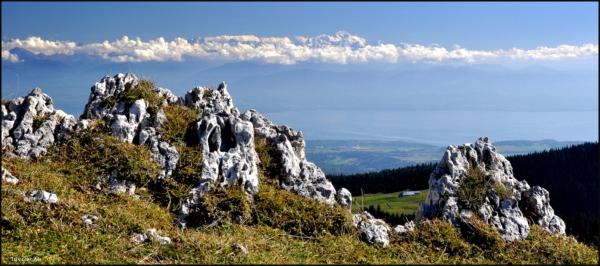Que la montagne est belle.