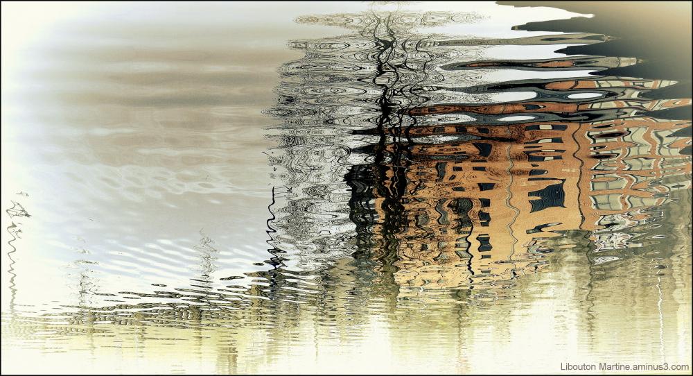 Quand l'eau se fait aquarelle