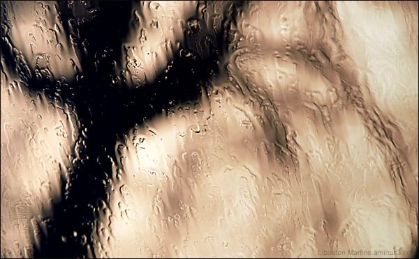 Absract,pluie
