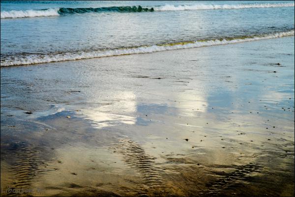 La plage ...Miroir du ciel
