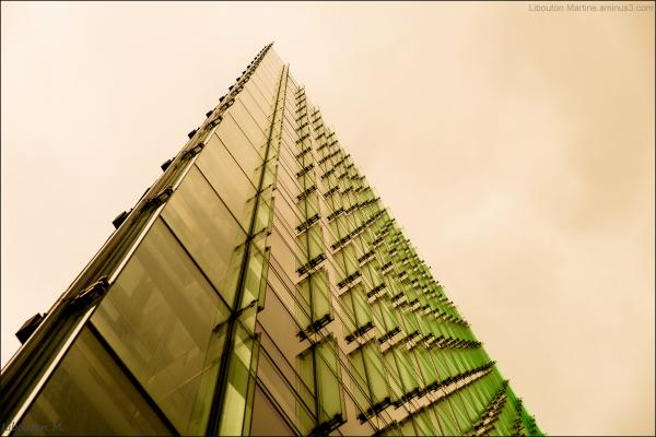 La pyramide de verre
