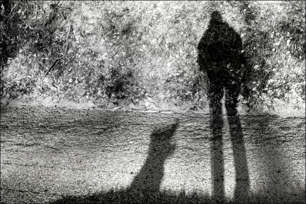 Selfie d'ombres