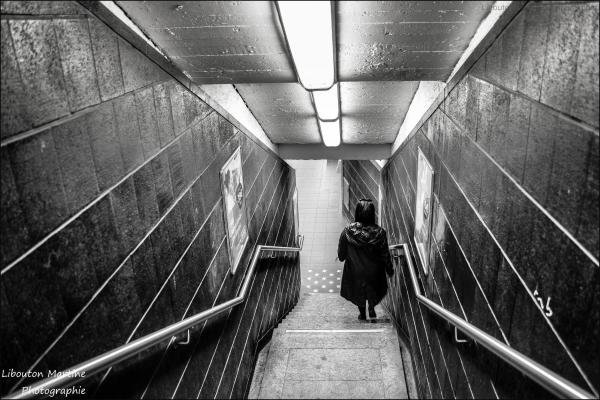 La femme du Métro