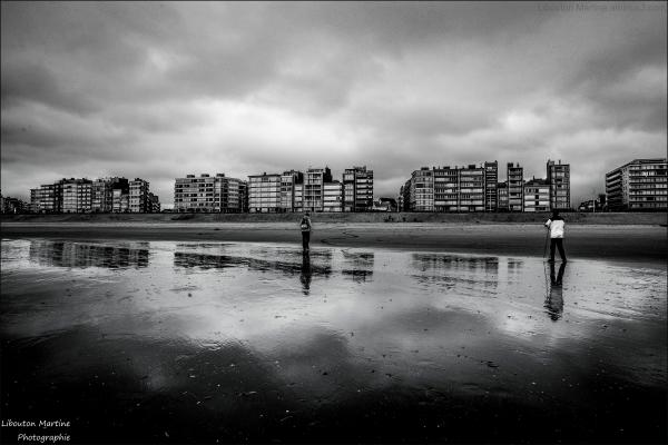 Miroir de la mer du Nord