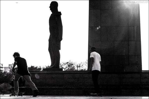 Skateboardeurs