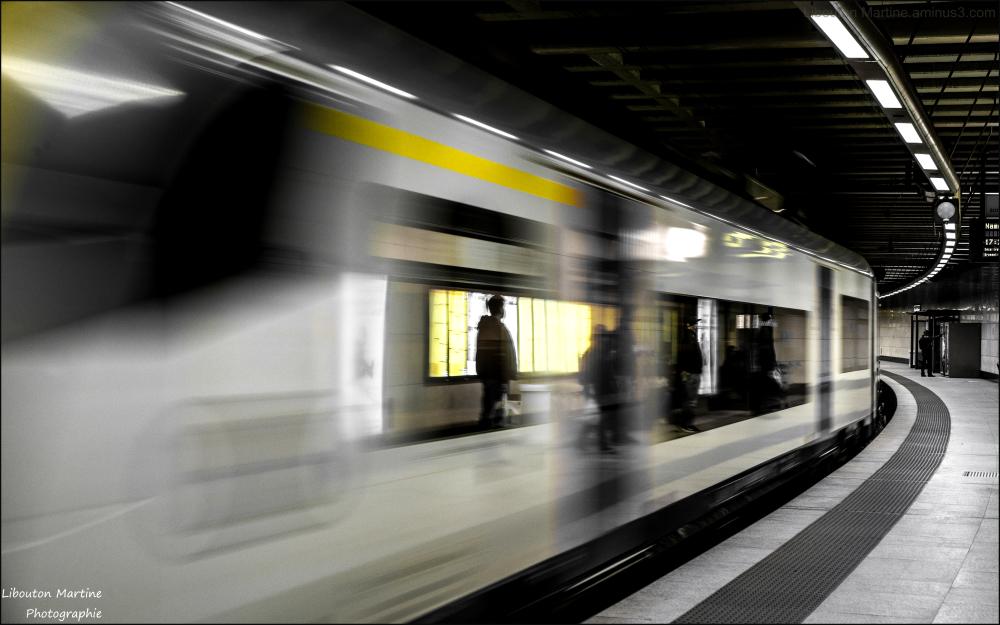 On prend toujours un train pour quelque part