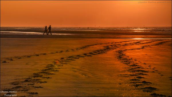 Les amoureux de la plage