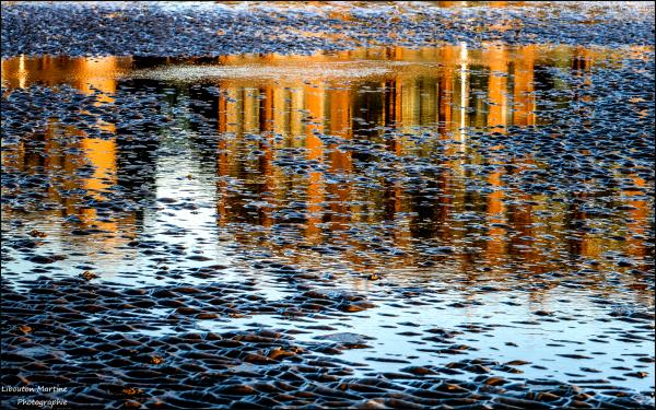 Miroir de plage
