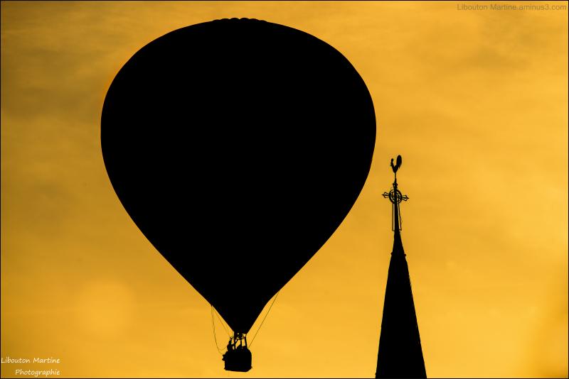 Le coq et la montgolfière