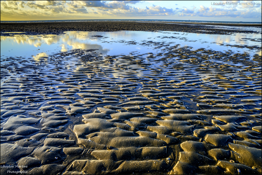 Pieds nus sur le sable