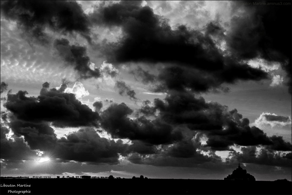 Les rues de nuages
