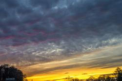 Le soleil couchant est un artiste de génie.