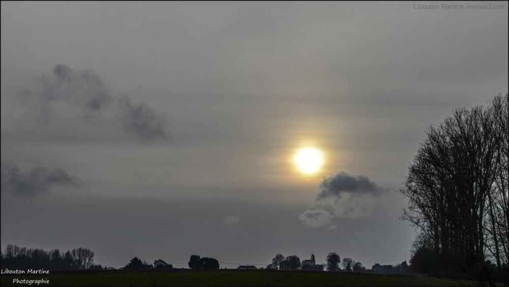 L'horizon est plus près ce soir que ce matin.