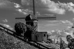 Les moulins d'hier et d'aujourd'hui