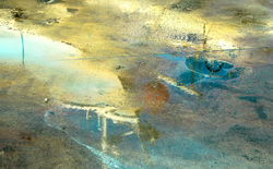 Aquarelle de béton
