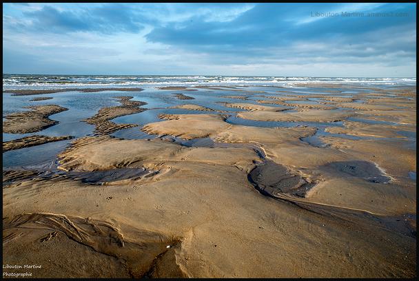 Cratères de plage