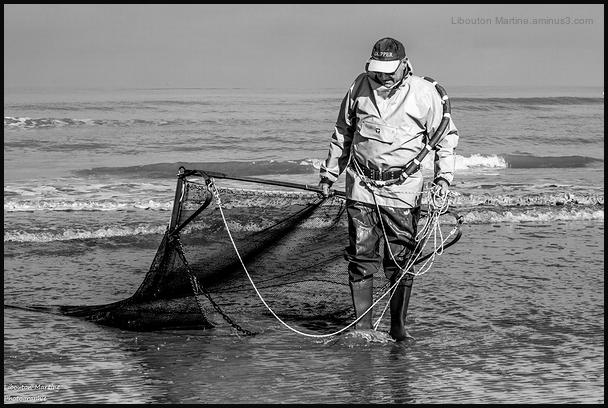 L'homme  à la pêche