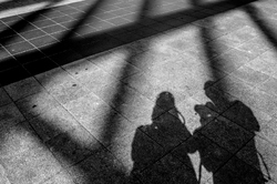 Les ombres : la vie à Bruxelles