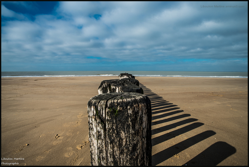 Martine à la mer / Catzand Pays-bas