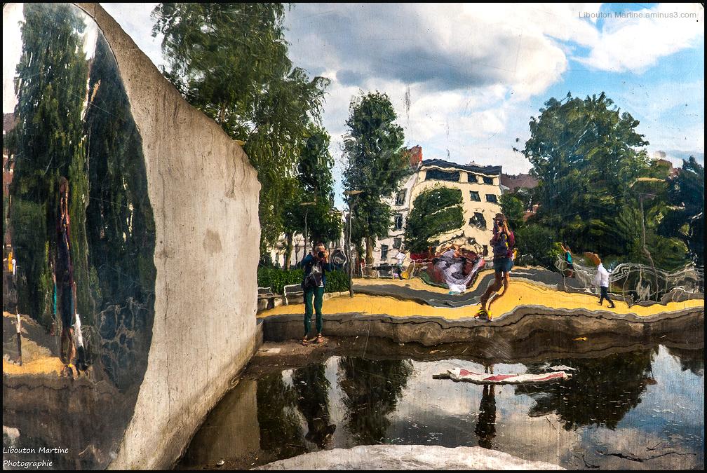 Déformation urbaine / La vie à Bruxelles