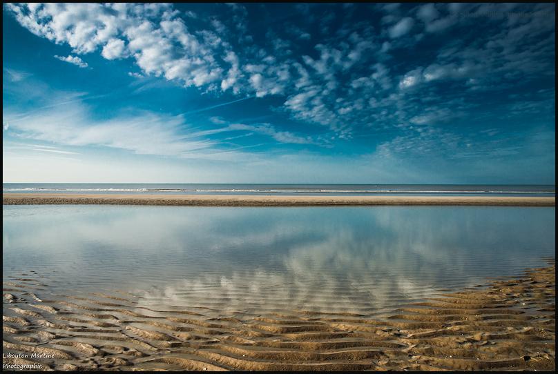 Entre ciel et sable