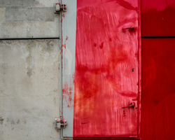 L'oeil de la porte