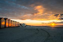 La route du coucher de soleil !!