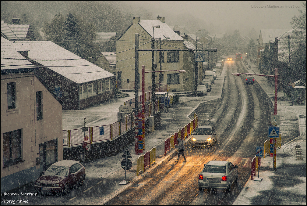 Tombe la neige ....
