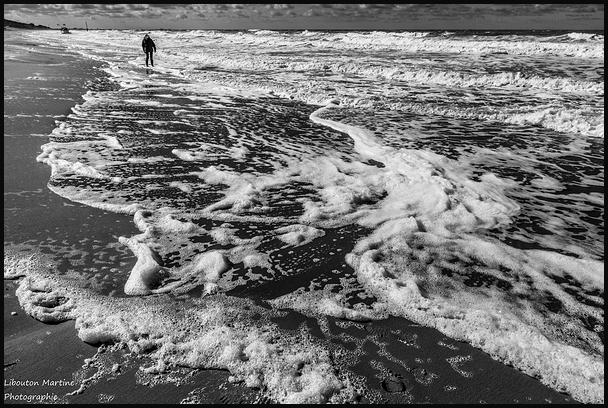 Les pieds dans l'eau !