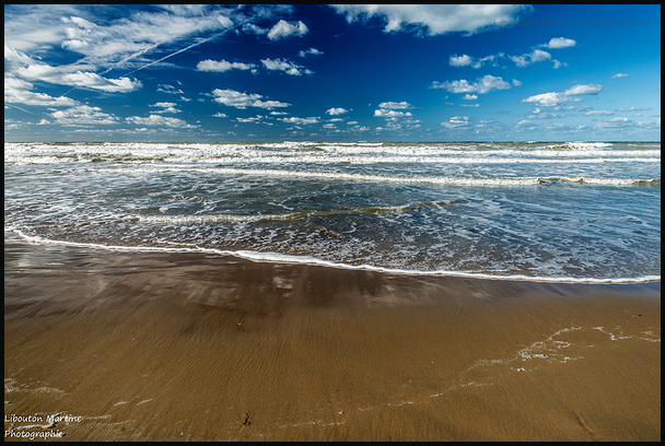 La mer du nord ....
