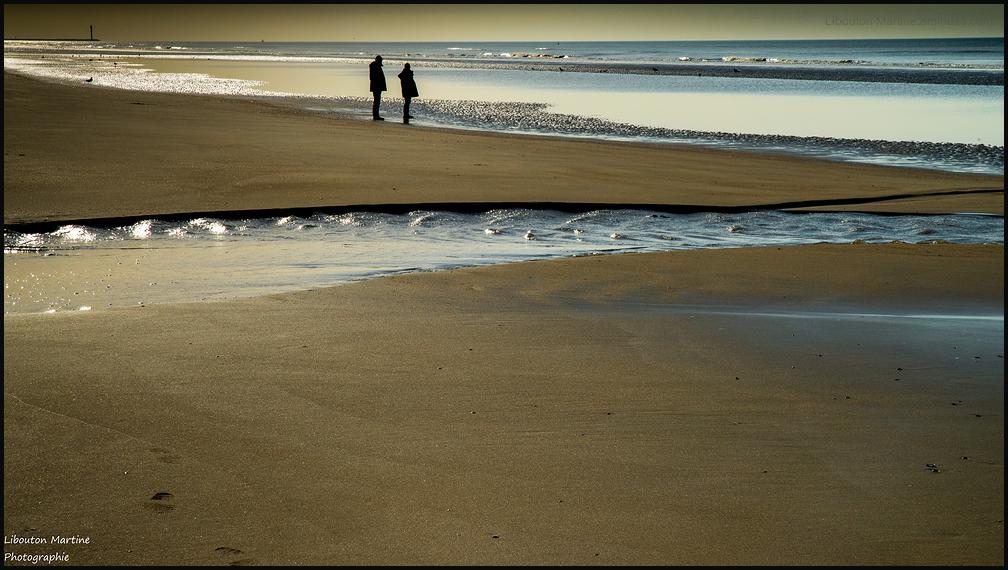A marée basse !