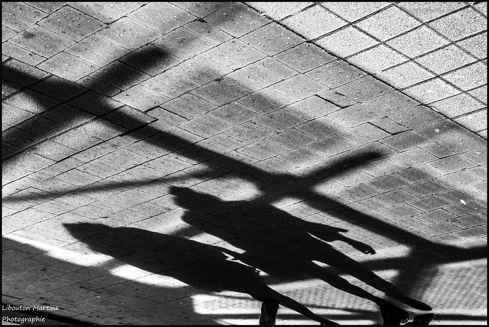 Les ombres en marche !