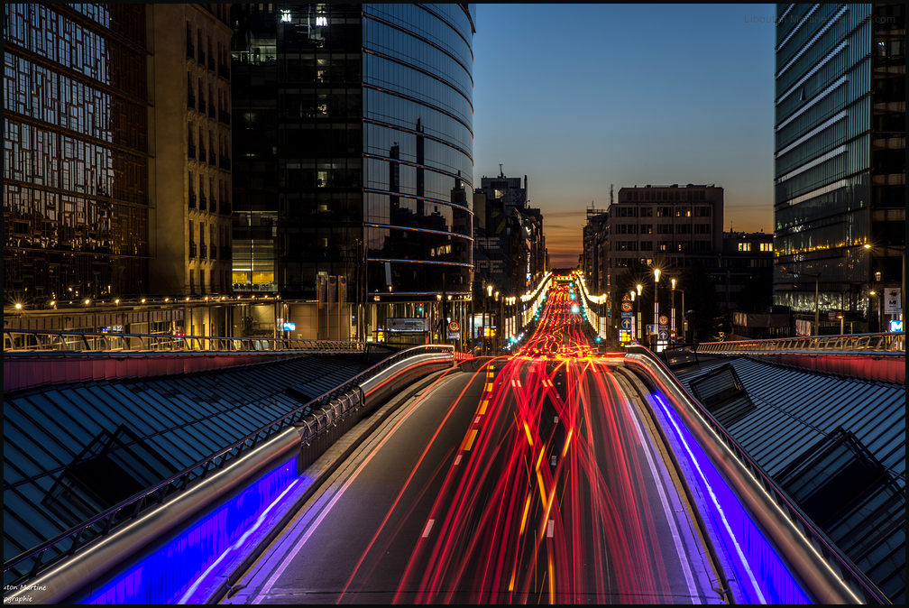 Bruxelles à l'heure bleue !