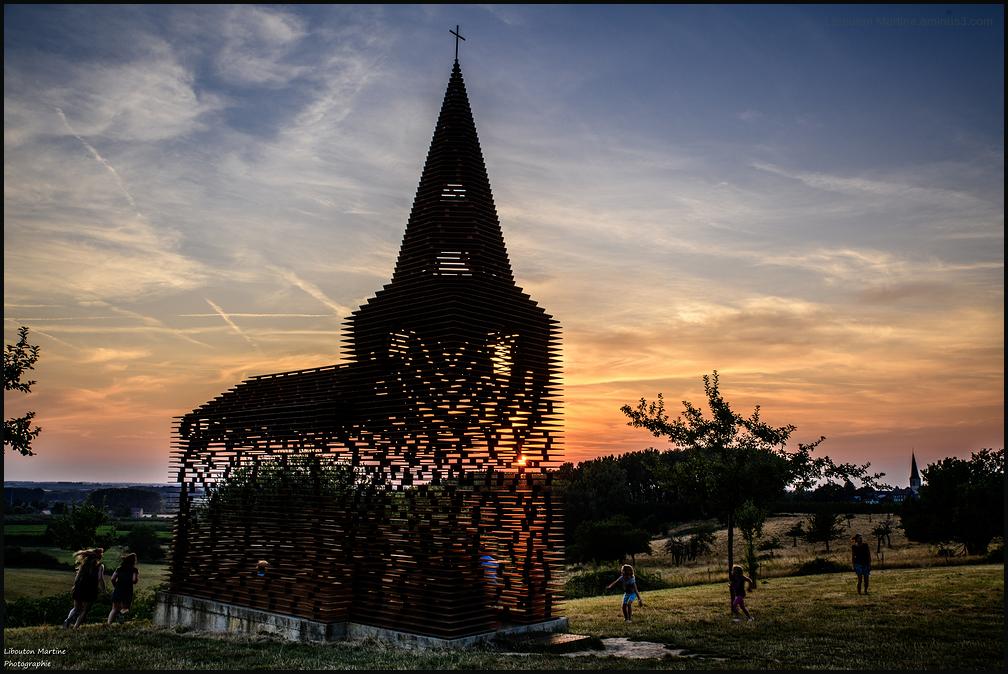 """La chapelle de Looz ou """"Lire entre les lignes """" 4"""