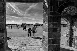 L'entrée du Mont -Saint-Michel