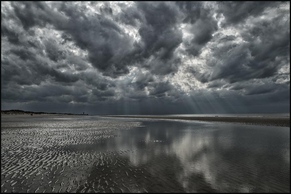 La mer du Nord et ses ciels si beaux