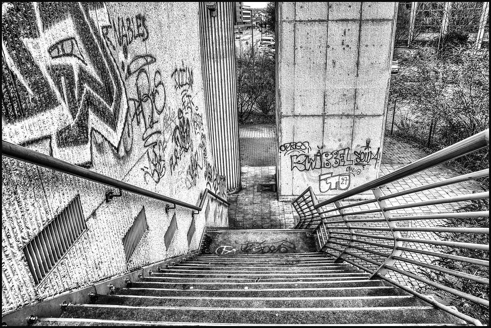 L'escalier de la passerelle ! 4/4 et fin