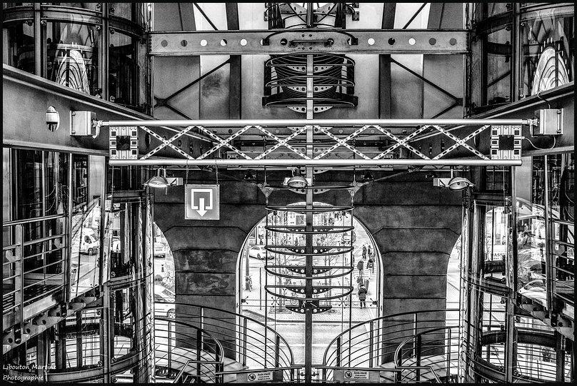 Dans la gare de Namur