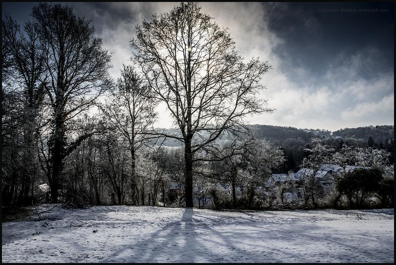 Mon village sous la neige 3/3